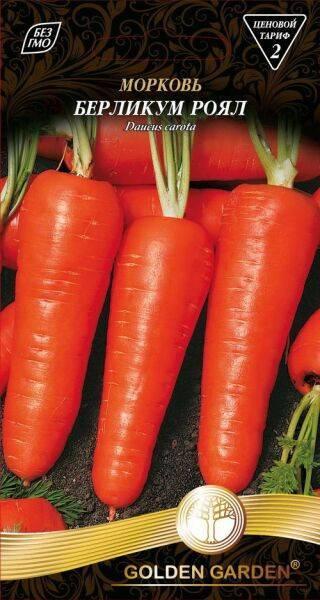Морковь берликум роял: описание, фото, отзывы
