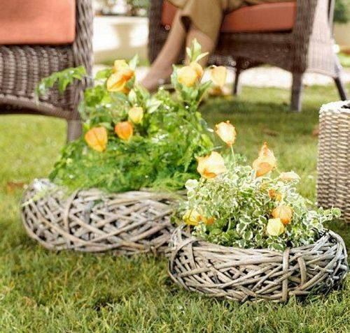Необычные украшения для сада своими руками