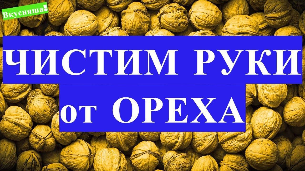 Духовка, кипяток и другие простые способы как чистить грецкие орехи без проблем