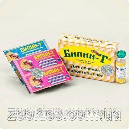 Применение препарата маврик для лечения варроатоза пчел