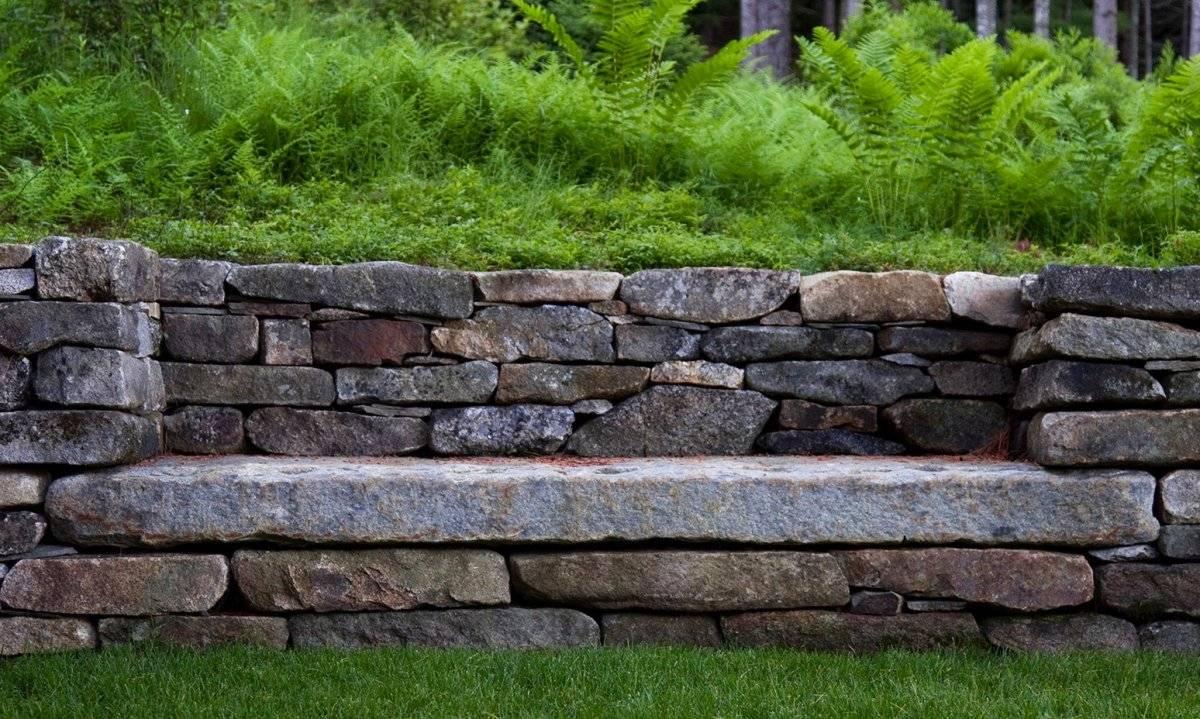 Подпорная стенка: топ-110 фото вариантов постройки. особенности способов строения, фундамента для подпорной стенки. советы в выборе материала и инструментов