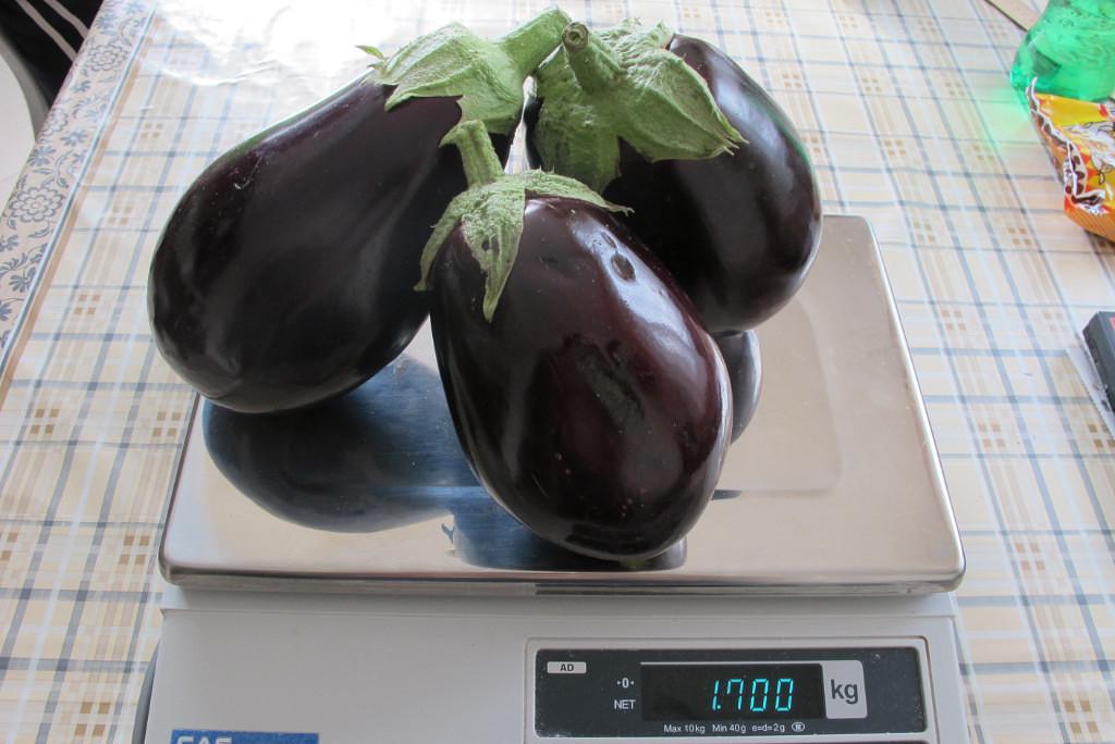 Марципан — сорт среднеспелых баклажанов с мягким вкусом