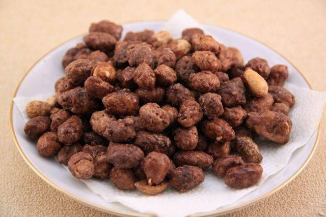 Арахис в сахаре рецепт с фото по шагам