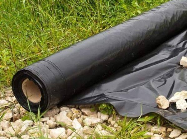 Как сделать грядку и посадить клубнику под черный укрывной материал