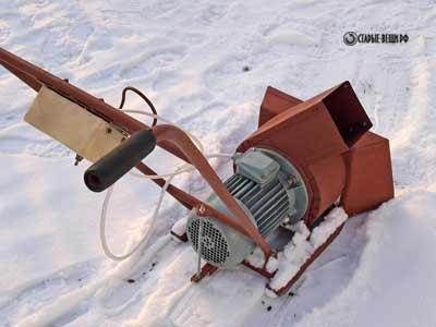 Бензиновый снегоуборщик своими руками – существенная экономия вашего бюджета