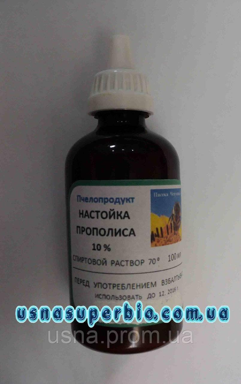 Лечение кашля настойкой прополиса у взрослых