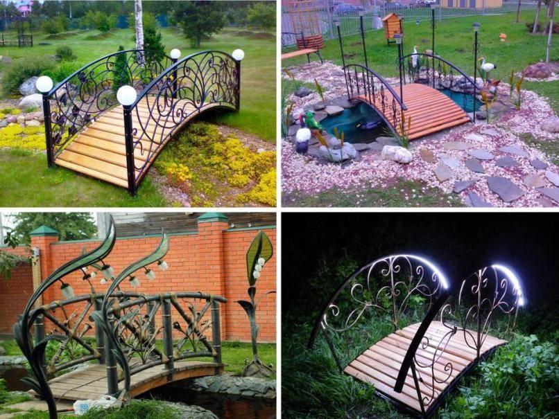 Как сделать садовые мостики своими руками: инструкция и фото идеи