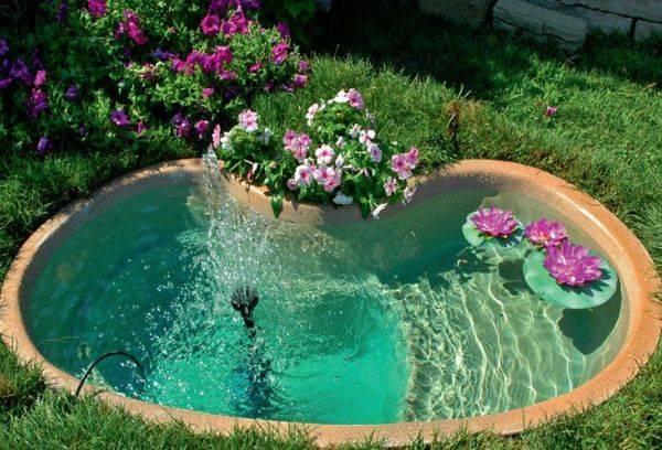 Водоем в саду своими руками: фото, как сделать в своем саду водоем и красиво его оформить