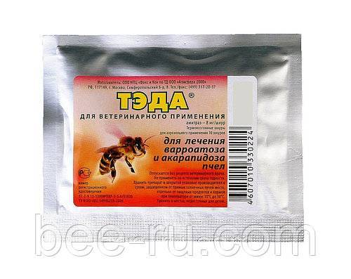 Применение препарата фумисан для лечения и профилактики варроатоза пчел