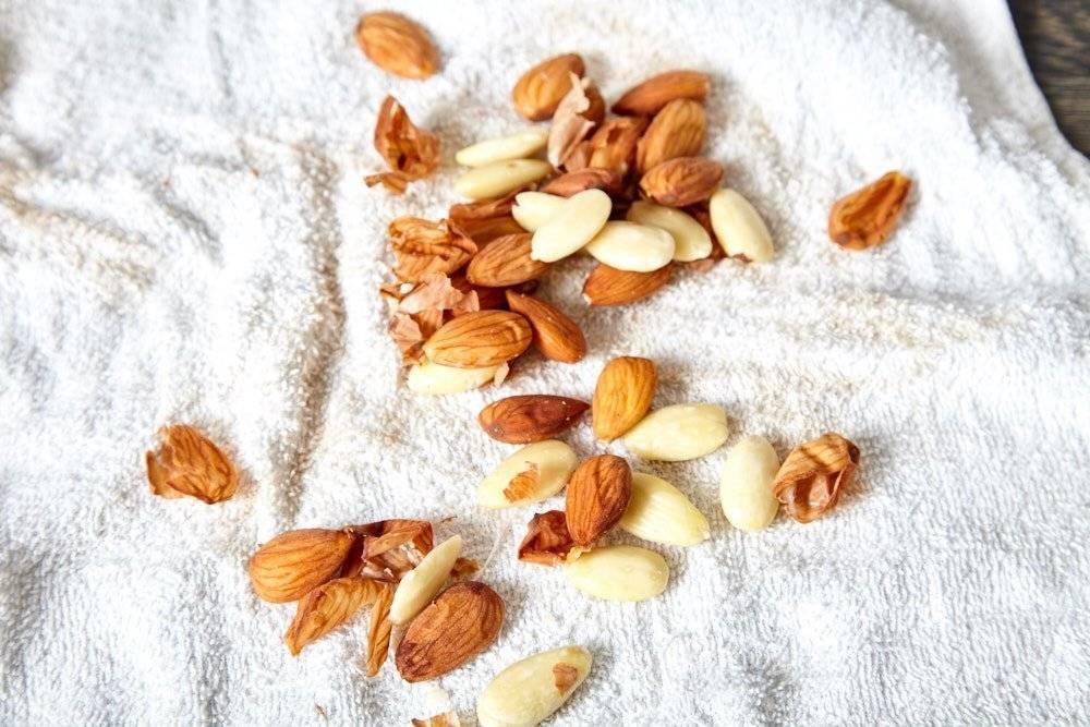 Как сушить миндальный орех. как самому просто очистить миндальный орех от кожуры, от шелухи, от кожицы? способ для терпеливых