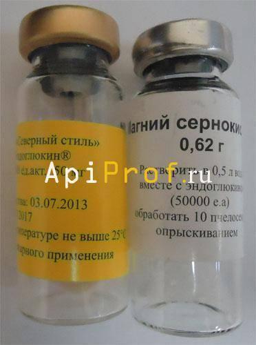 Эндовираза для пчел
