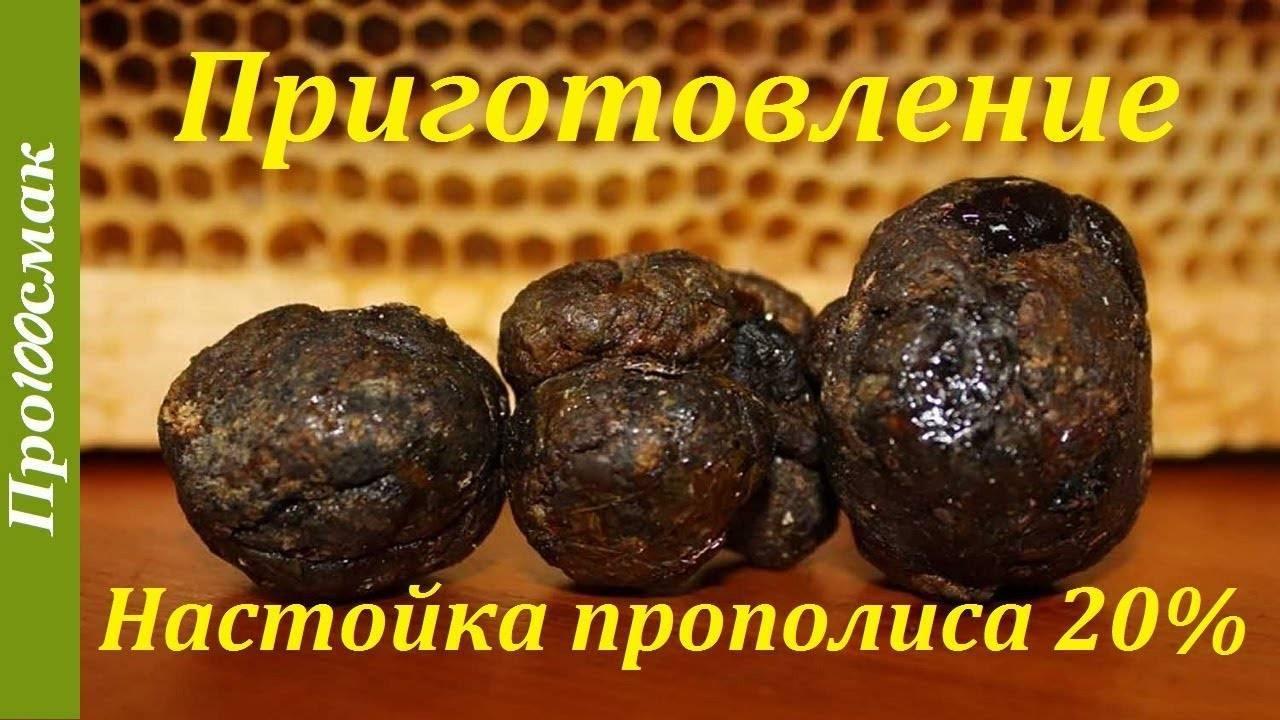Лечение язвы желудка прополисом с медом настойкой как принимать рецепты