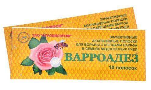 Варроадез — лекарственное средство против клещей