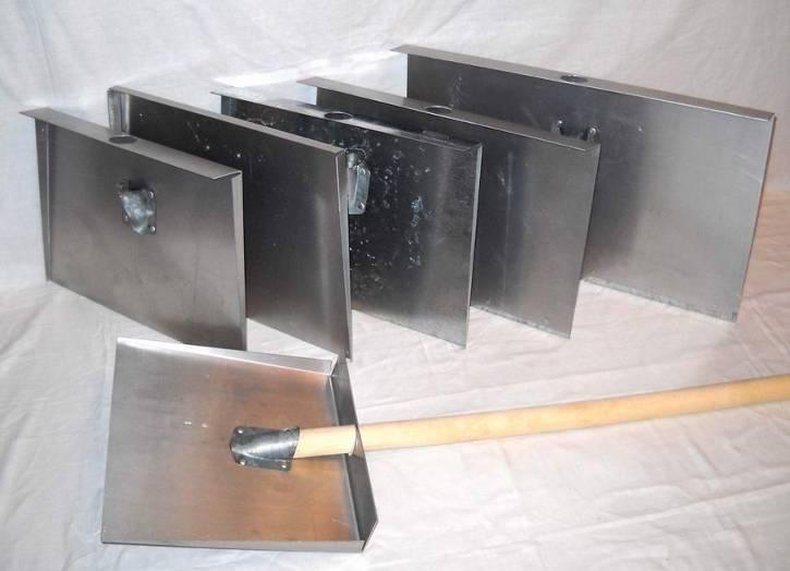 Как сделать снегоуборочную лопату своими руками: самодельная деревянная, фанерная для уборки снега, размеры