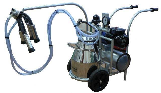 Аппарат доильный бытовой  (бурёнка)