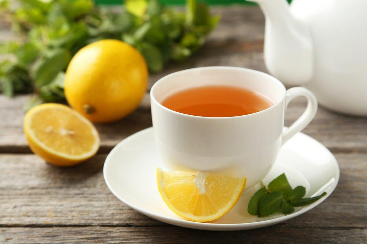 Грипп чай с малиной при