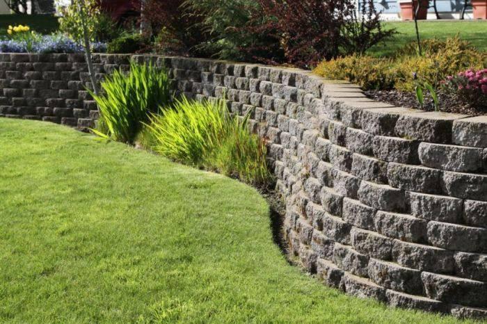 «ландшафтные хитрости», 87 серия. подпорные стенки в саду - ландшафтный дизайн своими руками