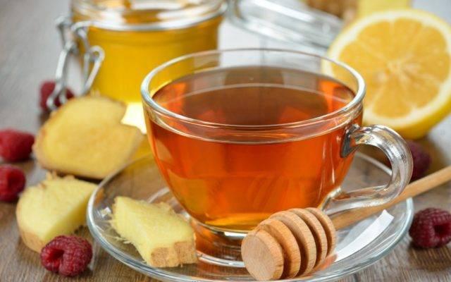 Чем полезен чай с малиной при высокой температуре, рецепты