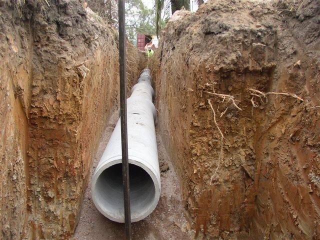 Дренаж участка своими руками на глинистых почвах: схема устройства открытого и глубинного дренажа