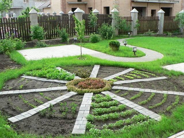 5 способов избавиться от травы на садовых дорожках между плитками