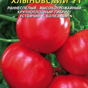 Томат хлыновский характеристика и описание сорта. томат «хлыновский»: описание сорта