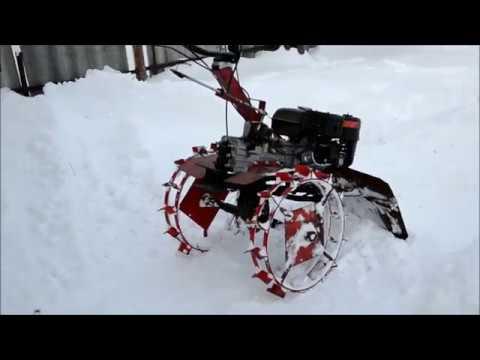 Как из культиватора сделать снегоуборщик