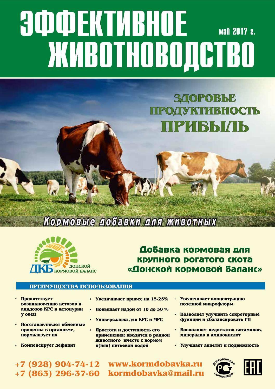 Авитаминоз у коровы симптомы и лечение