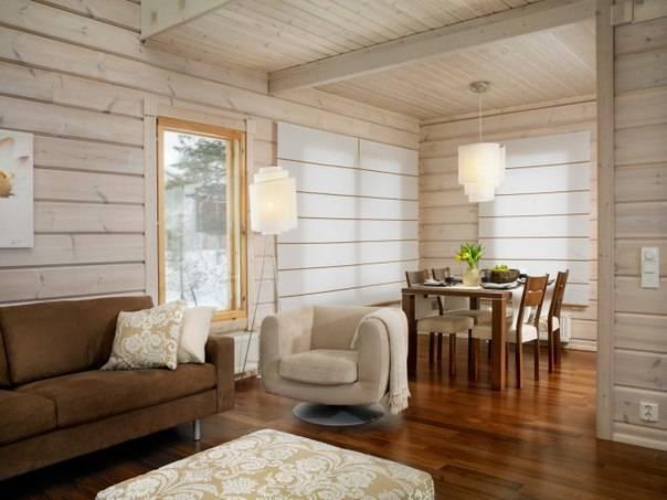 Интерьер дачного дома внутри: фото эконом класса