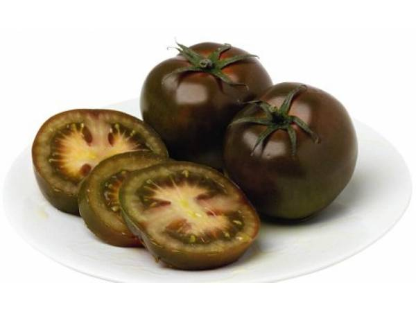 Характеристика черноплодных помидоров сорта кумато