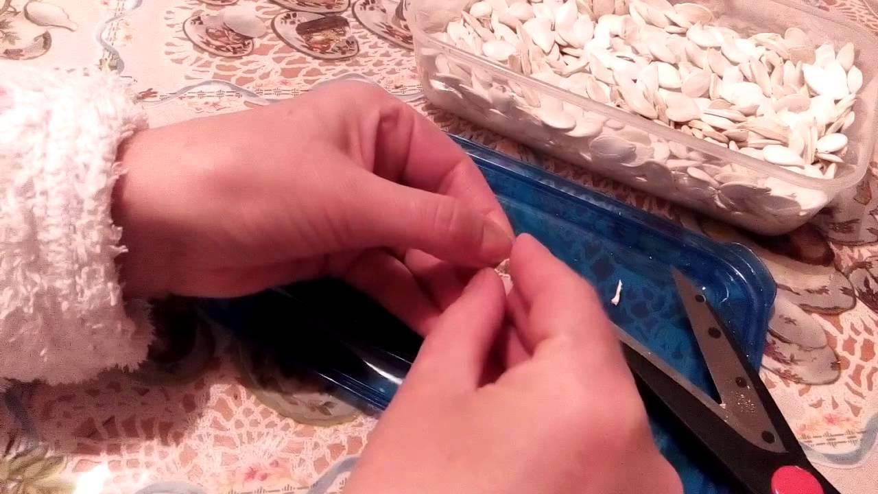 Как быстро почистить тыквенные семечки от кожуры в домашних условиях