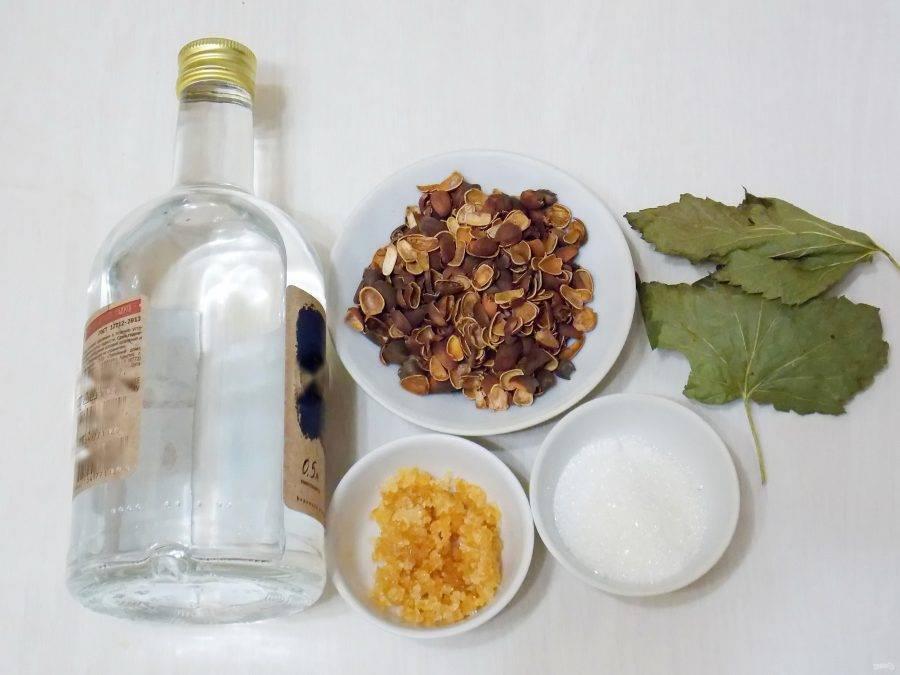 Лучшие рецепты настойки на кедровых орешках на спирту