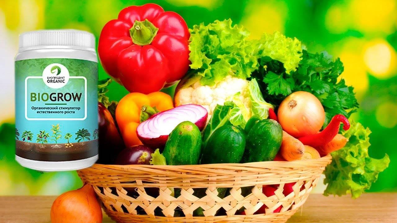 Эффективность и применение удобрения biogrow