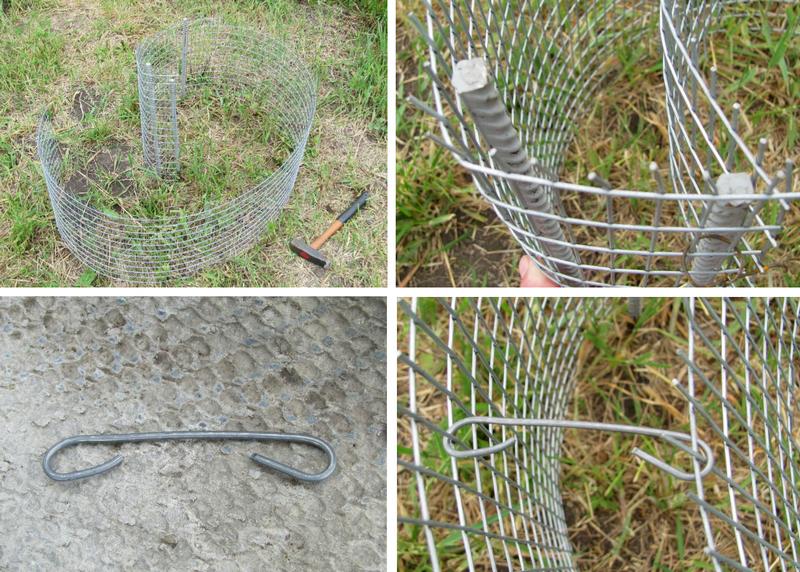 Забор из габиона своими руками — пошаговая инструкция