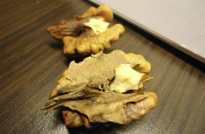 Рецепт настойки на перегородках грецкого ореха